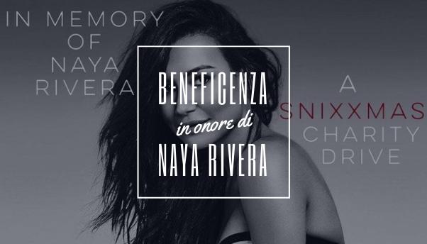 naya-rivera-beneficenza